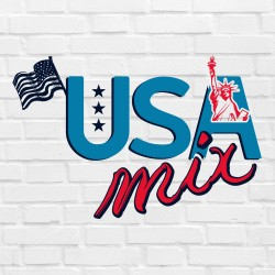 10 x USA Mix 10ml -...